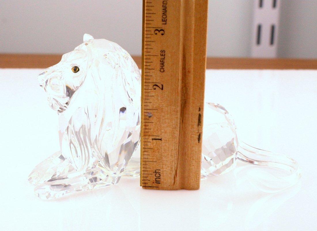 Swarovski Lion Crystal Figurine - 2