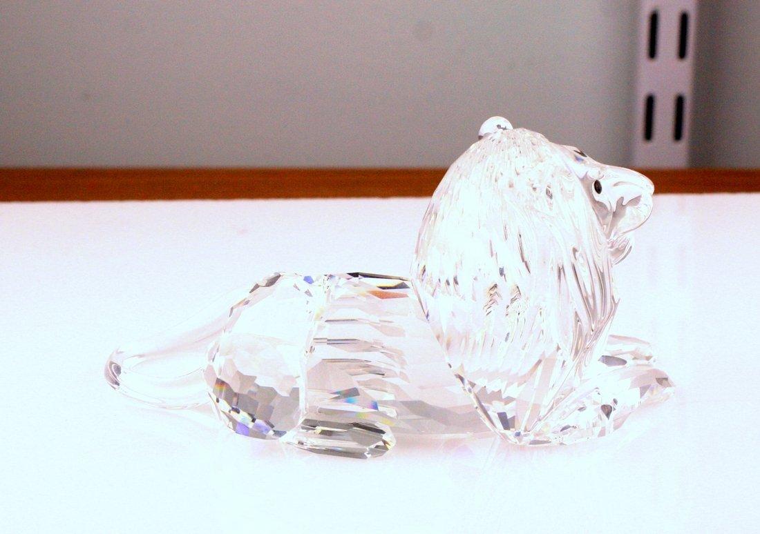 Swarovski Lion Crystal Figurine - 4