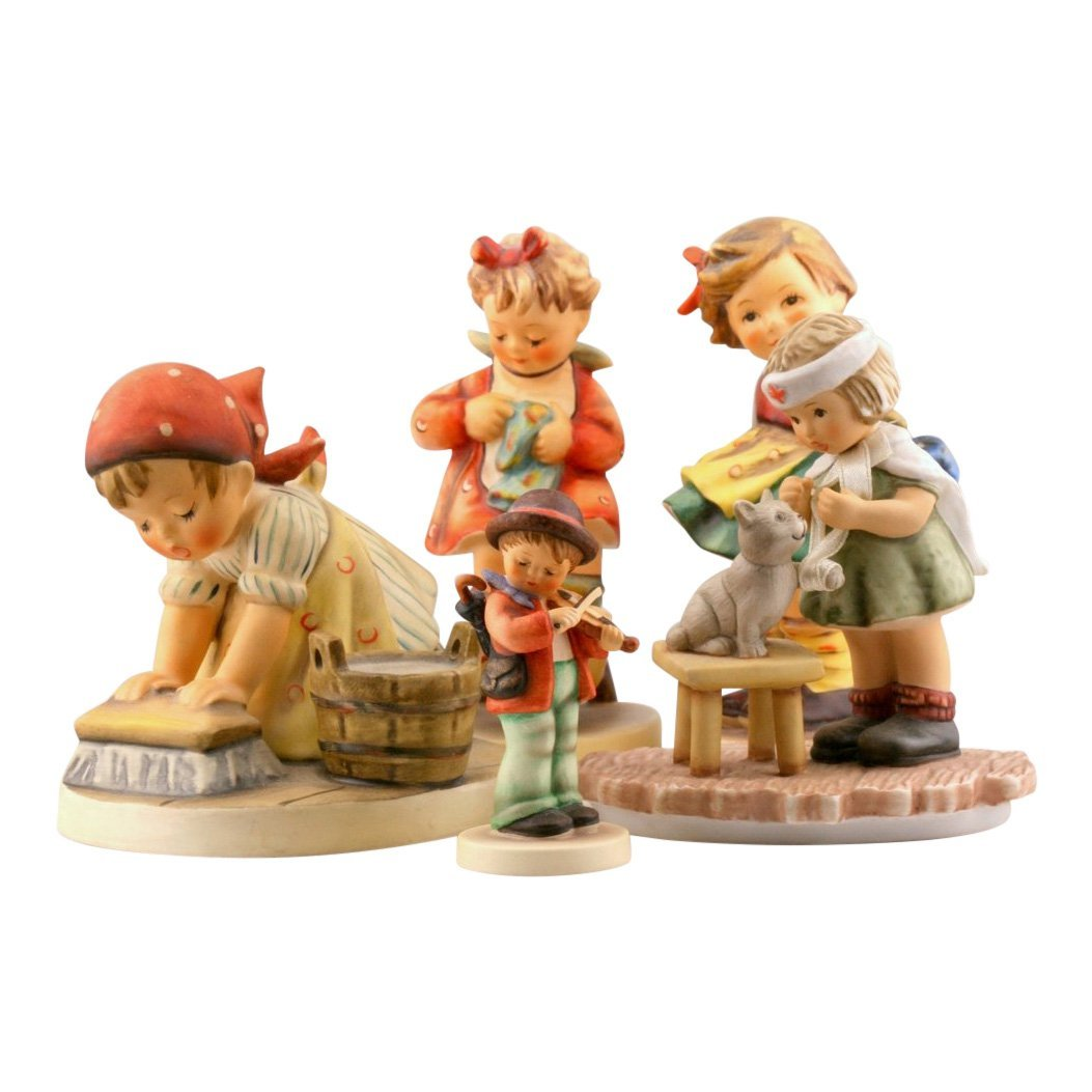 Lot of 5 Hummel & Goebel Figurines
