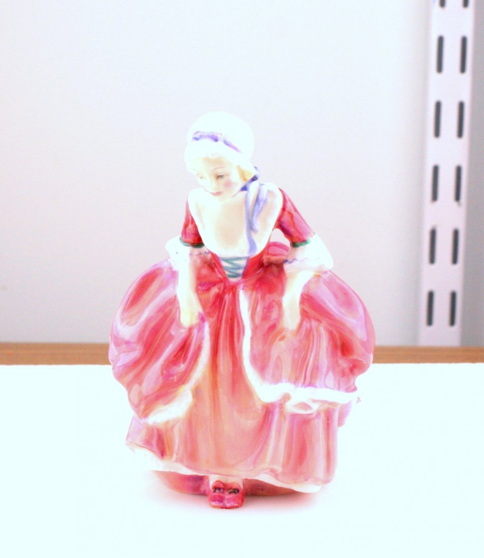 Lot of 3 Figurines: Royal Doulton, Lladro, Fraser - 4