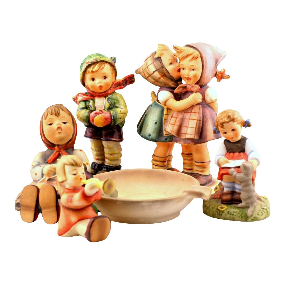 Lot Of 5 Hummel and Goebel Figurines