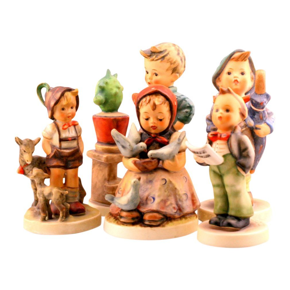 Lot Of 5 Hummel Figurines