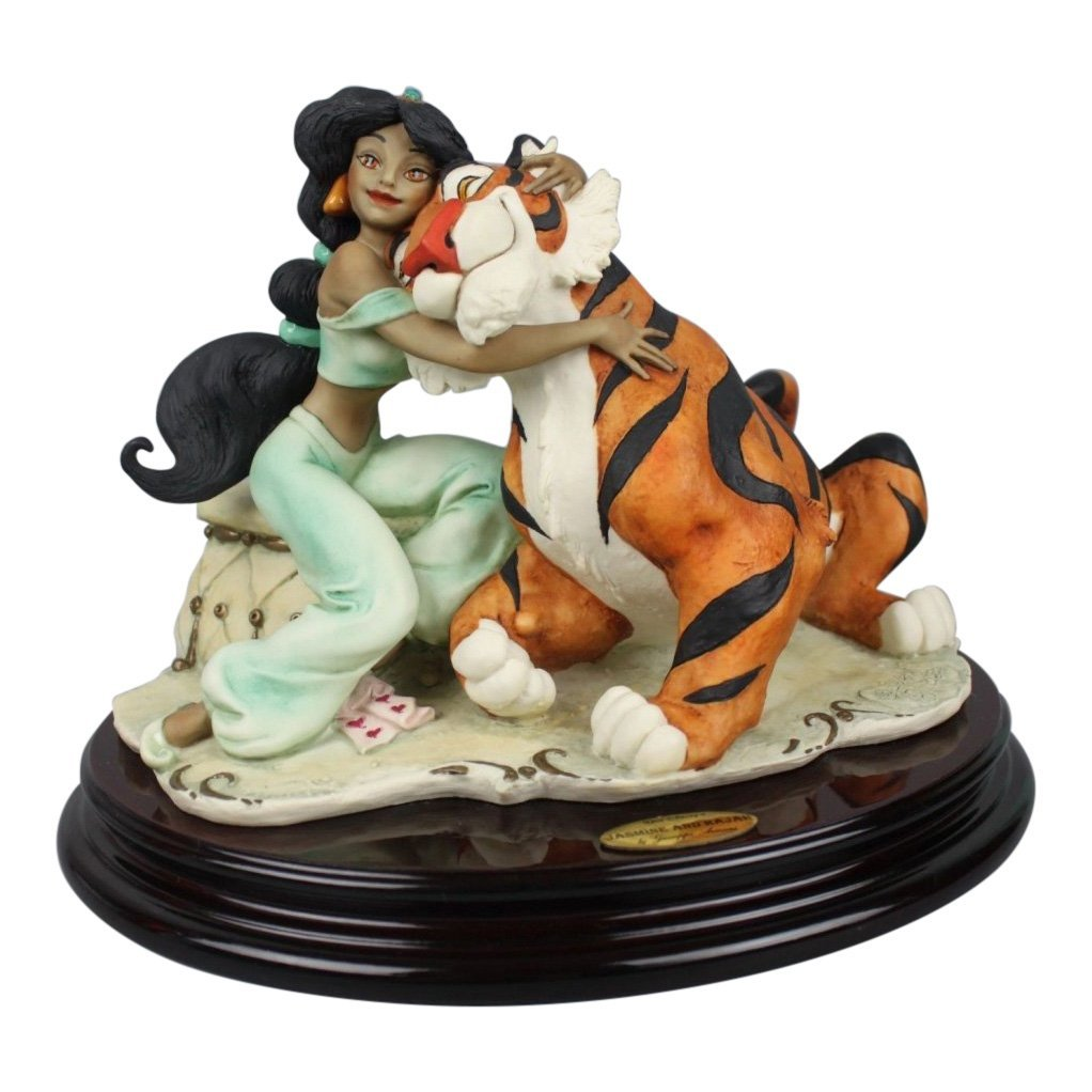 Giuseppe Armani Jasmine and Rajah Figurine
