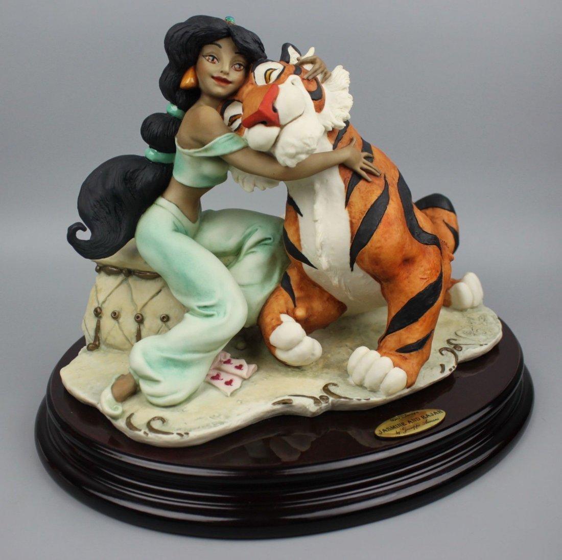 Giuseppe Armani Jasmine and Rajah Figurine - 2