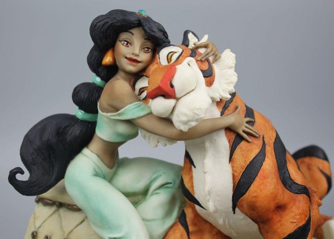 Giuseppe Armani Jasmine and Rajah Figurine - 4