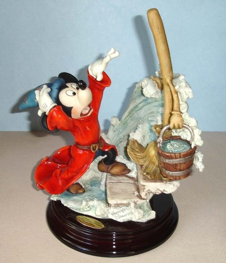 Giuseppe Armani Sorcerer's Apprentice Mickey Figurine - 5