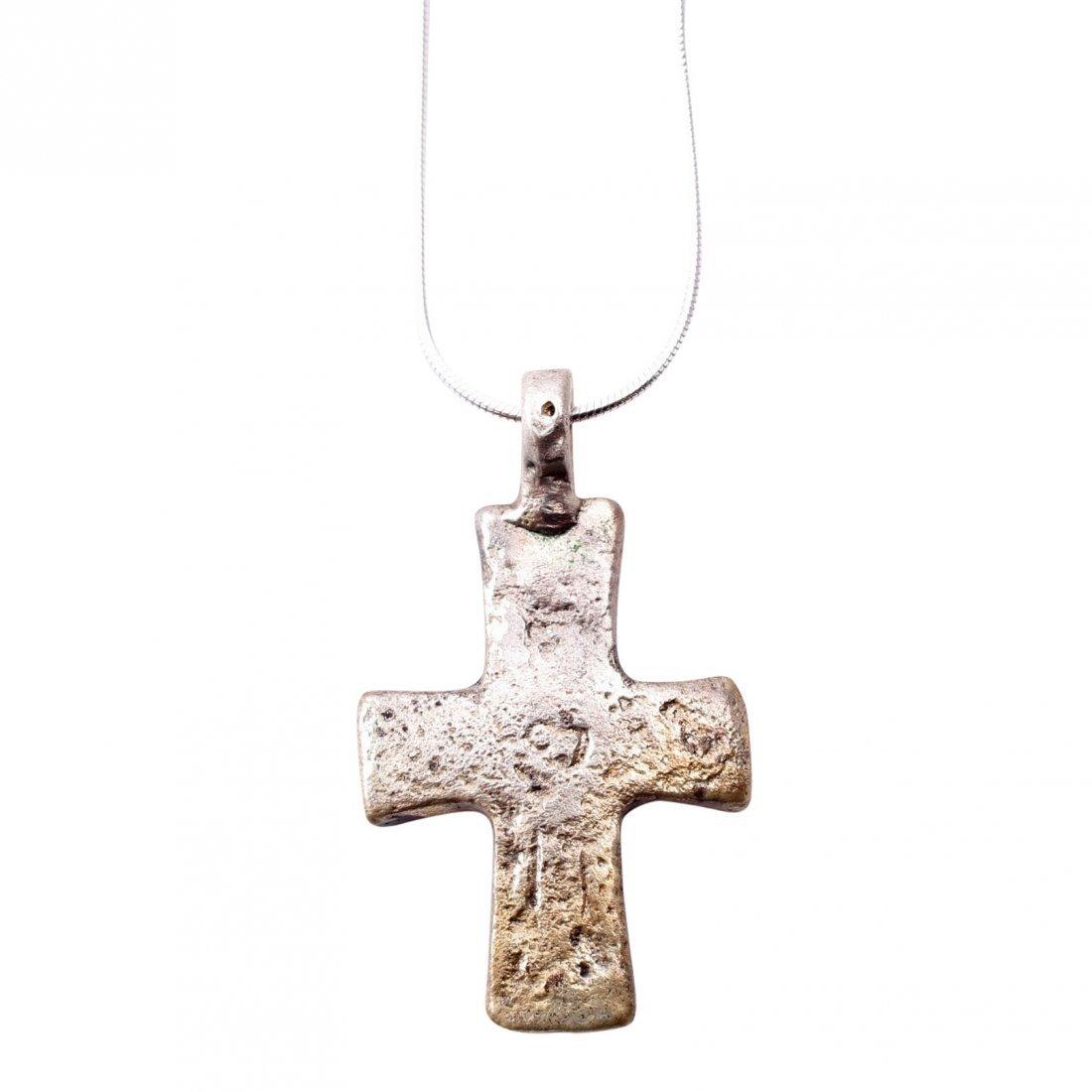 Byzantine Pilgrim's Reliquary Cross 9-12th C