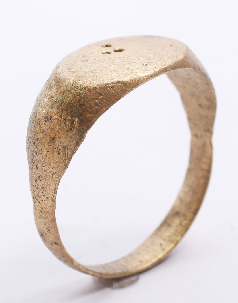 Bronze Viking Man's Ring 9-11th C - 3