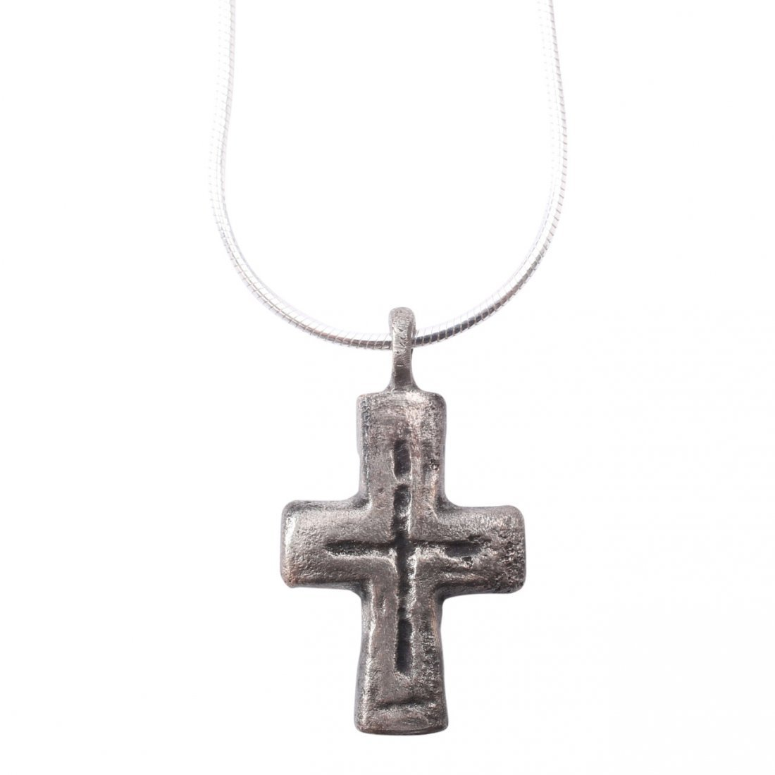 Byzantine Pilgrim's Reliquary Cross 5-8th C
