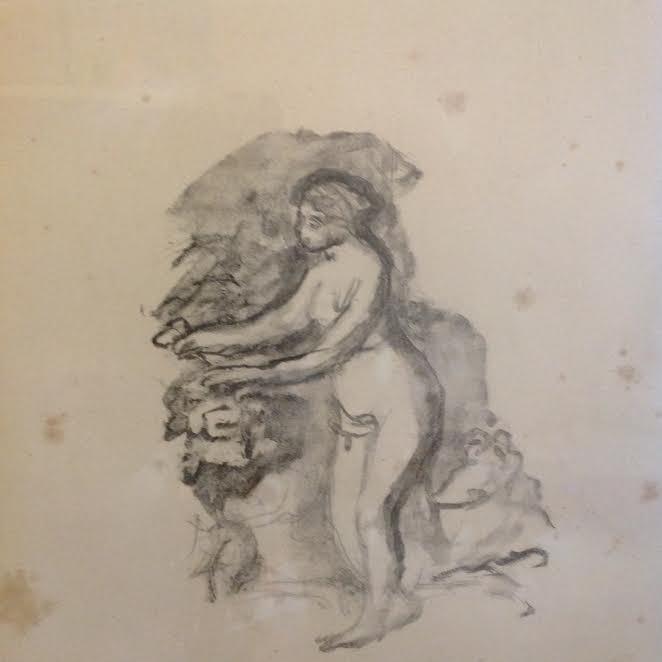 Pierre Auguste Renoir: Woman Print, 1904 - 2