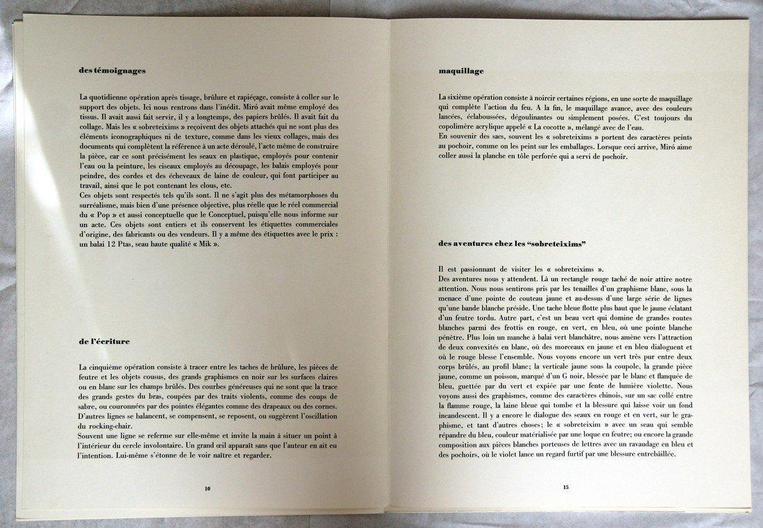 Joan Miró: Derrière le Miroir #203 Lithographs, 1973 - 10