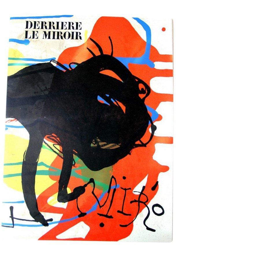Joan Miró: Derrière le Miroir #203 Lithographs, 1973