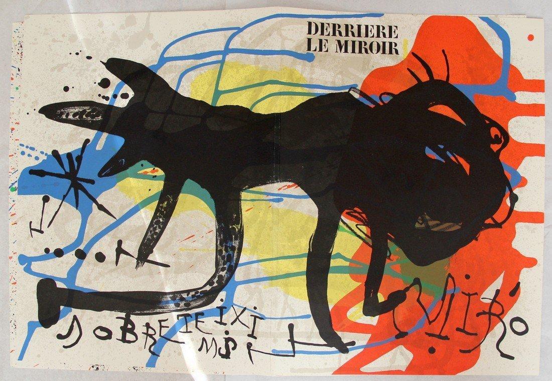 Joan Miró: Derrière le Miroir #203 Lithographs, 1973 - 2