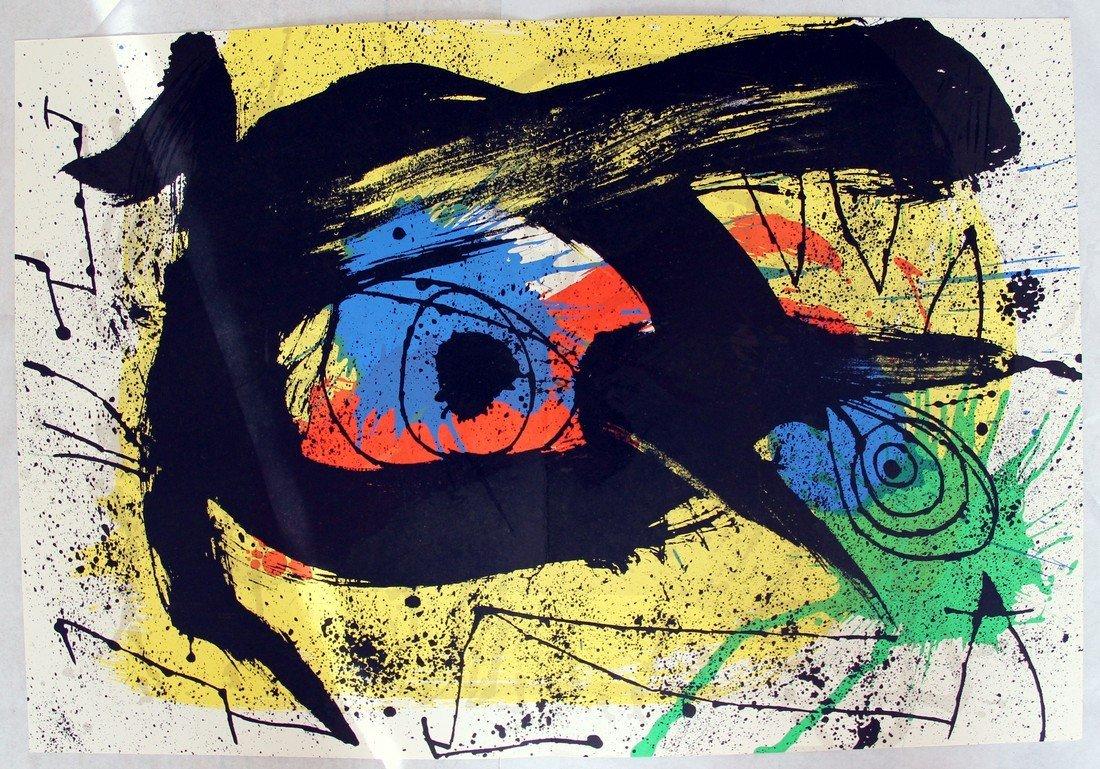 Joan Miró: Derrière le Miroir #203 Lithographs, 1973 - 3