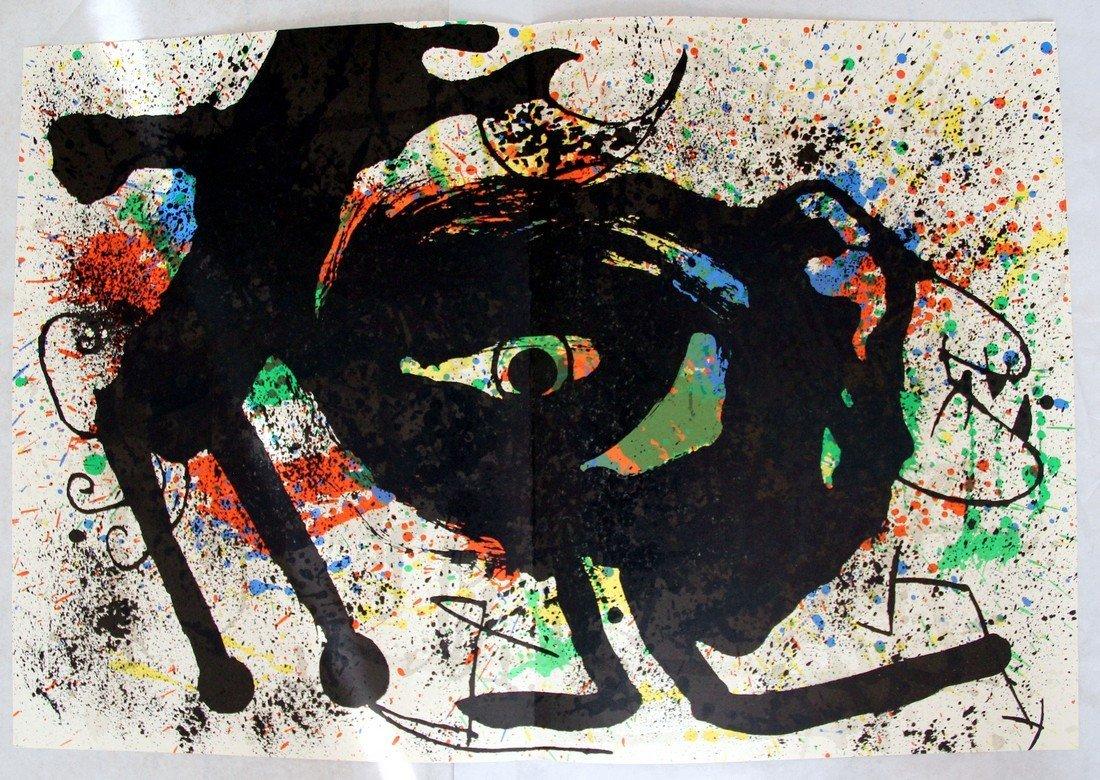 Joan Miró: Derrière le Miroir #203 Lithographs, 1973 - 4