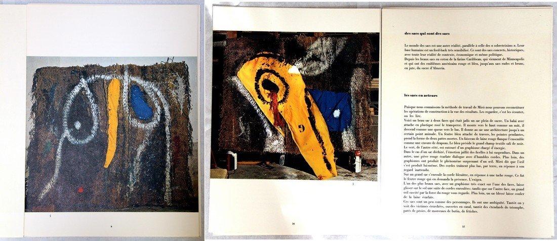 Joan Miró: Derrière le Miroir #203 Lithographs, 1973 - 8