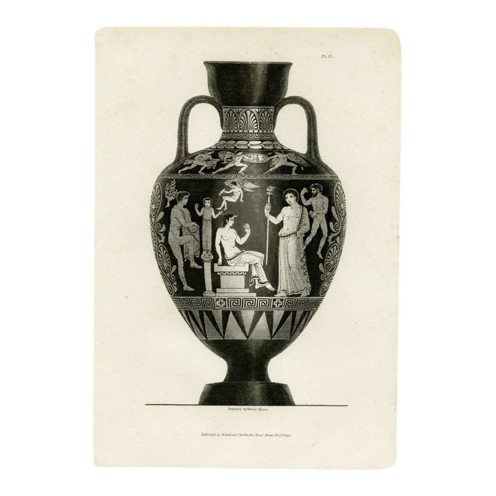 Henry Moses: Moses Vases Pl 17