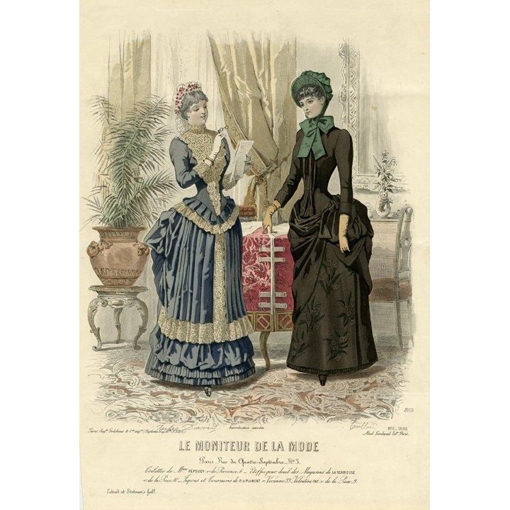Le Moniteur de la Mode. No. 5, 1884