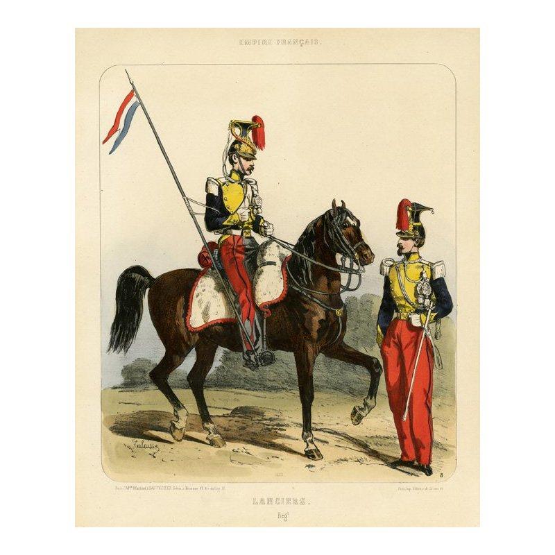 W. Galaisse: Empire Francais, Lanciers. Regt. 1853