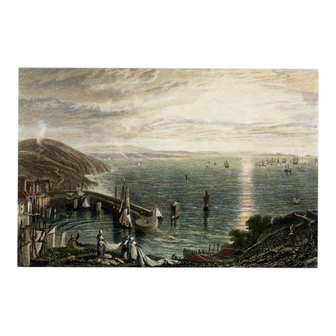 J.M.W. Turner: Torbay from Brixham, 1859