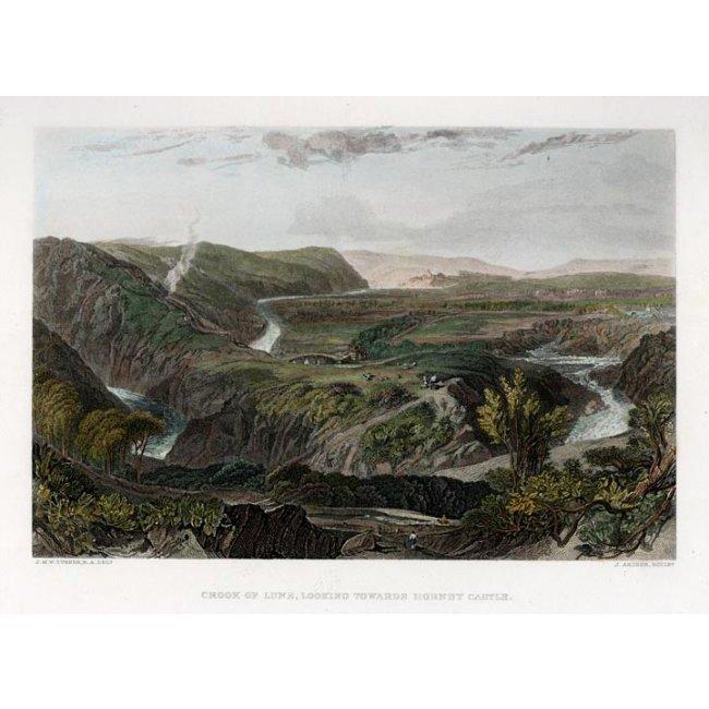 J.M.W. Turner: Looking Towards Hornby Castle, 1859