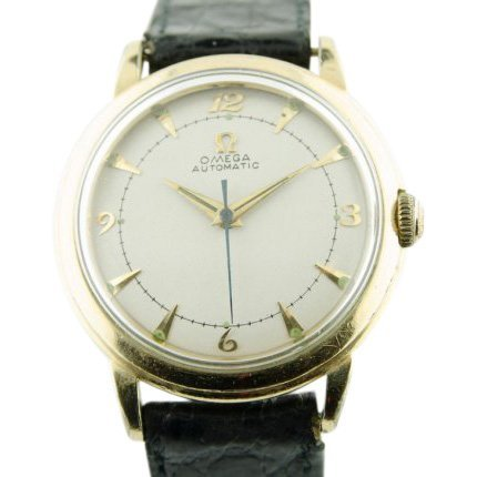 Omega 14K Gold Automatic Watch