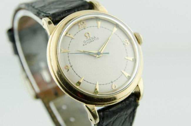 Omega 14K Gold Automatic Watch - 2