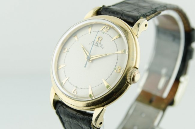 Omega 14K Gold Automatic Watch - 3