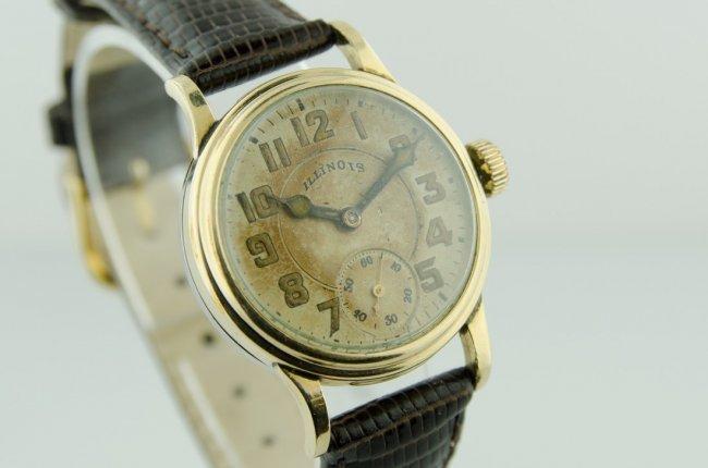 Illinois Men's Early Enamel Wristwatch - 2