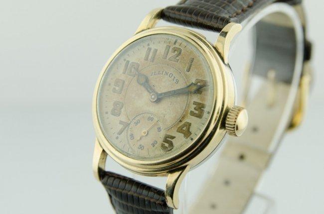 Illinois Men's Early Enamel Wristwatch - 3