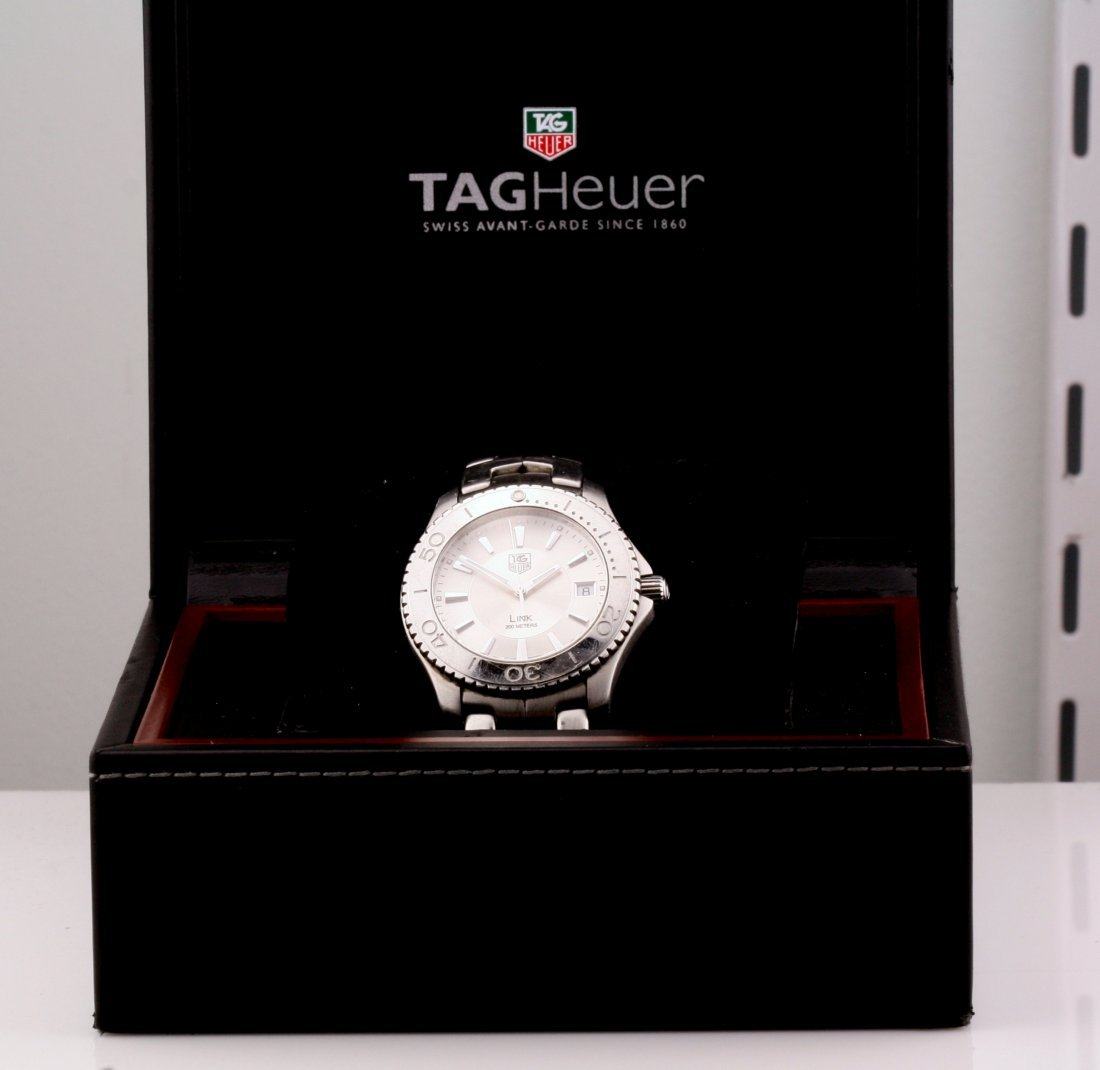 Tag Heuer Stainless Steel WJ1111 Quartz Watch - 3