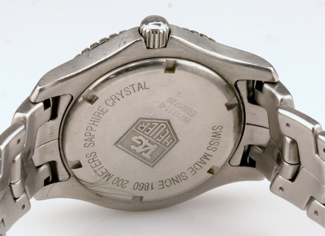 Tag Heuer Stainless Steel WJ1111 Quartz Watch - 7