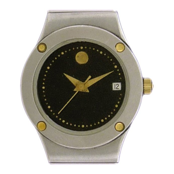 Movado Ladies Museum Date Stainless Steel Watch