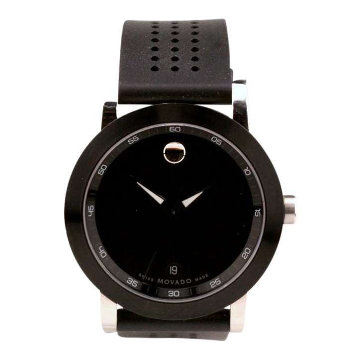 Movado Stainless Steel Museum Sport Watch