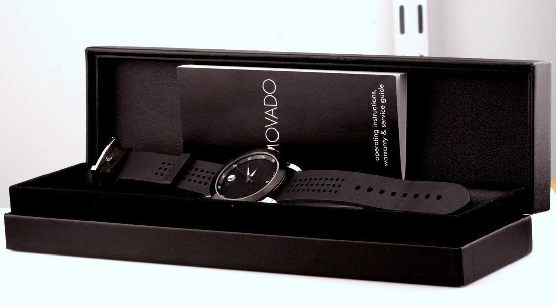 Movado Stainless Steel Museum Sport Watch - 2