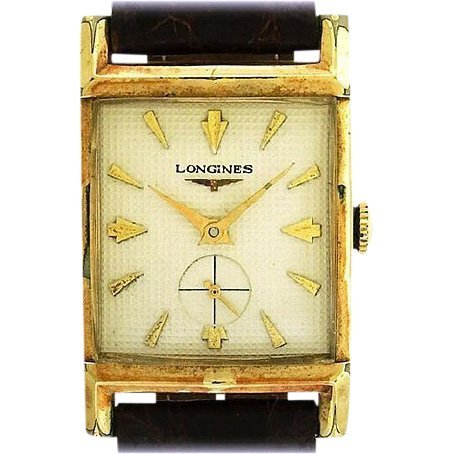 Longines Gold Filled Tank Watch
