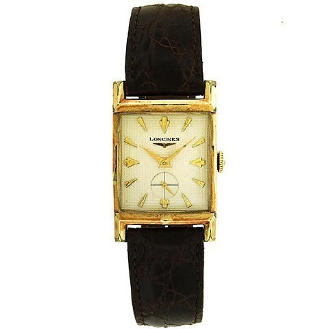Longines Gold Filled Tank Watch - 2