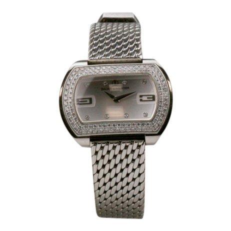 Baume-Mercier Ladies Diamond Stainless Steel Watch