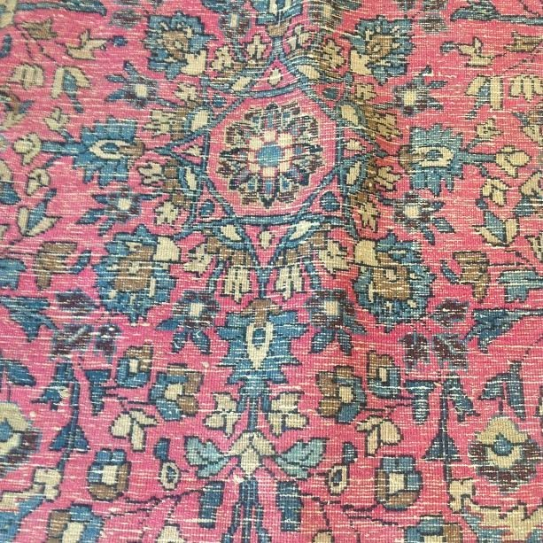 Persian Rug 104x71 - 10