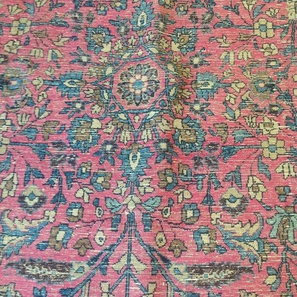 Persian Rug 104x71 - 9