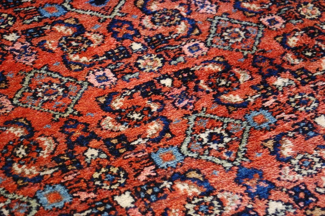 Antique Persian Malayer Rug 4.10x6.4 - 5