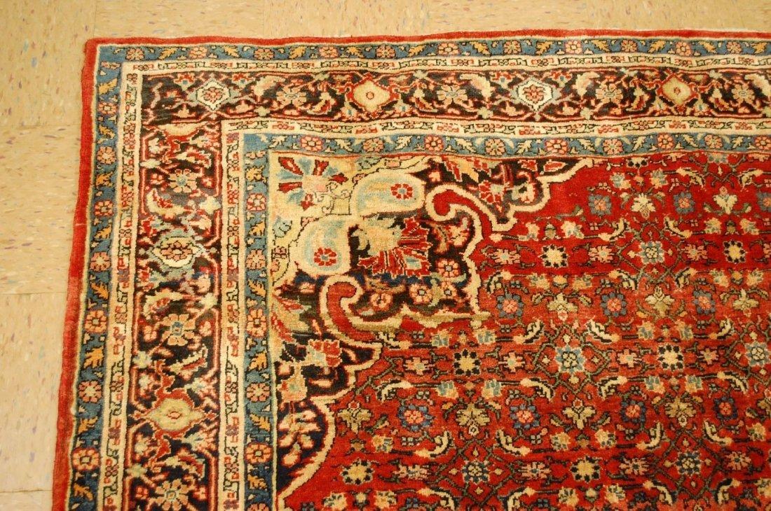 Antique Persian Bijar Rug 7.1x9.5 - 10