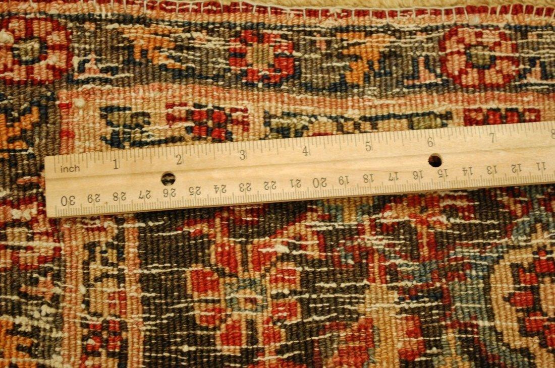 Antique Persian Bijar Rug 7.1x9.5 - 3