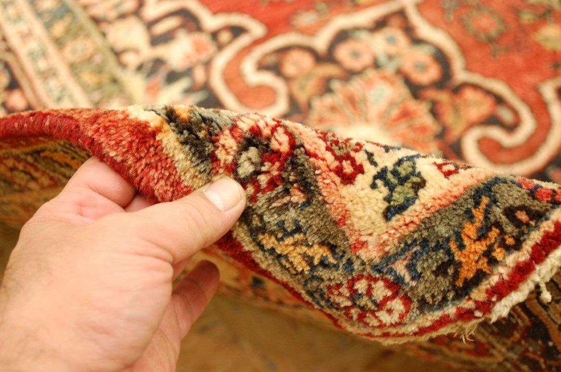 Antique Persian Bijar Rug 7.1x9.5 - 4