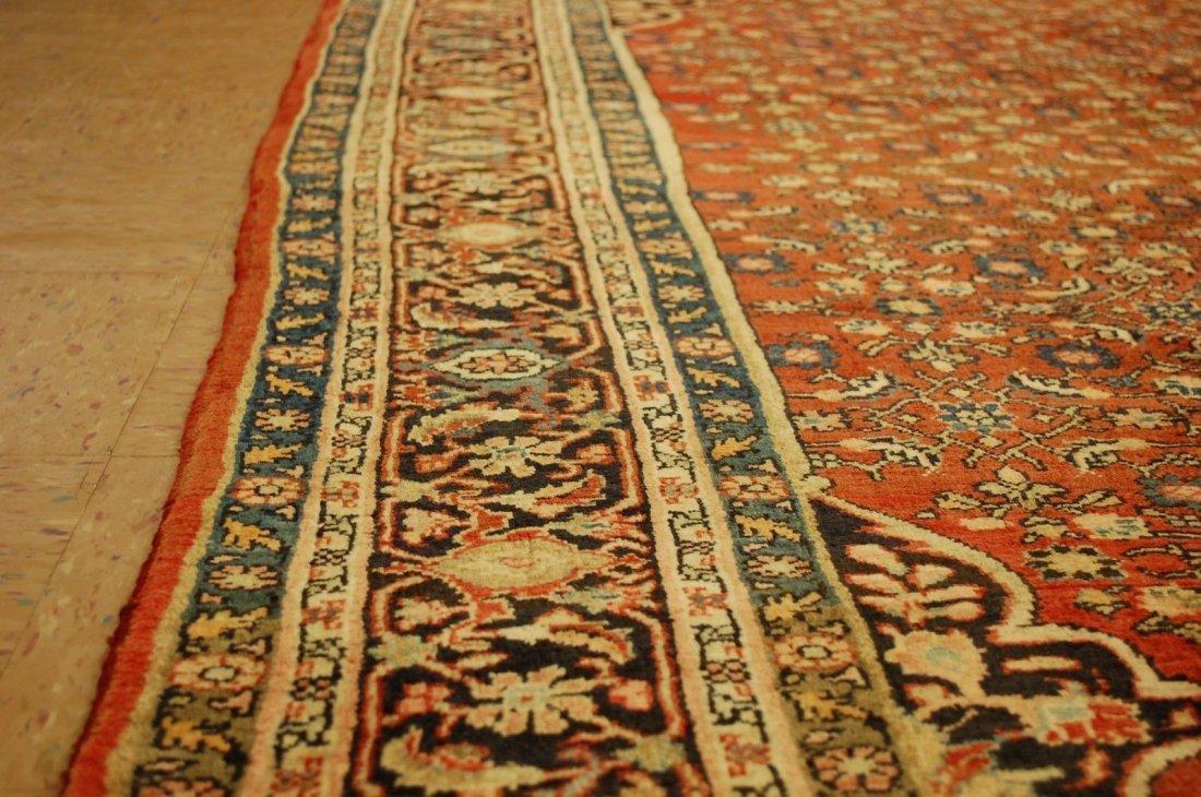 Antique Persian Bijar Rug 7.1x9.5 - 5