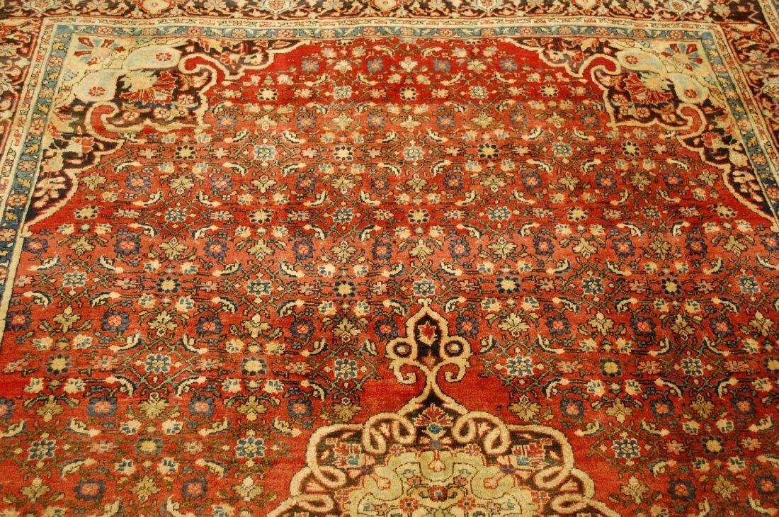Antique Persian Bijar Rug 7.1x9.5 - 8