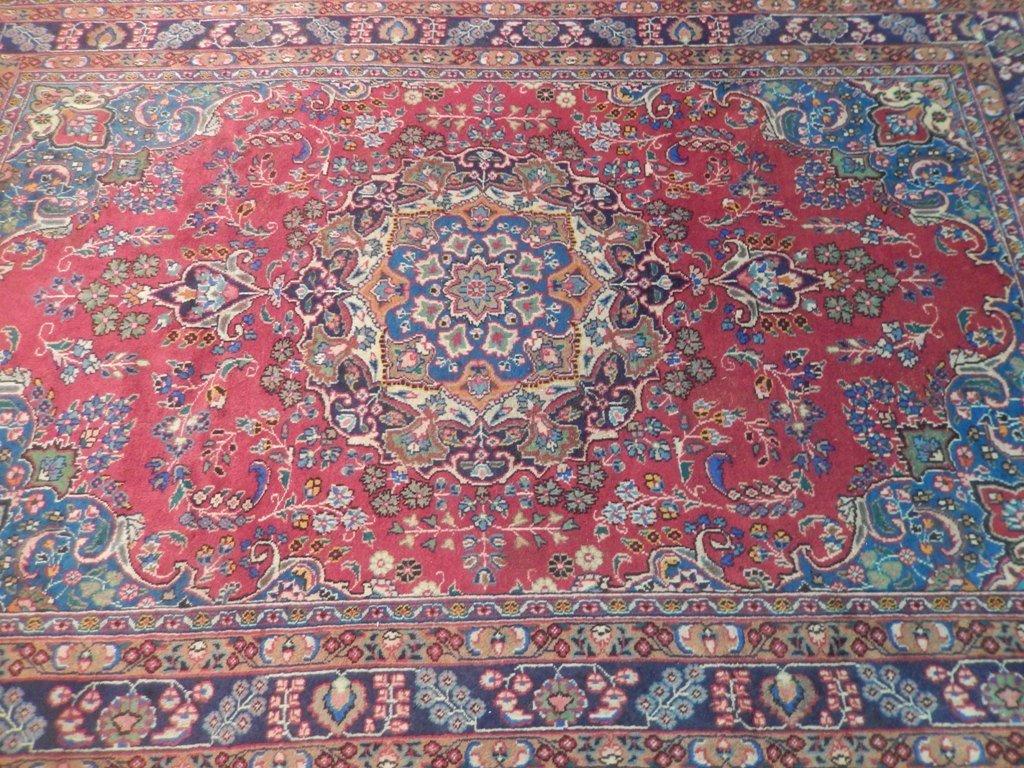 Persian Mashad Rug 6.3x9.10 - 4