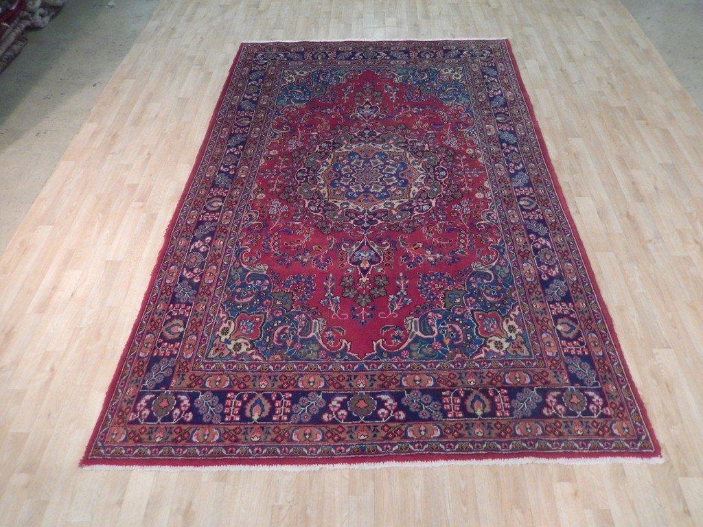 Persian Mashad Rug 6.3x9.10 - 6