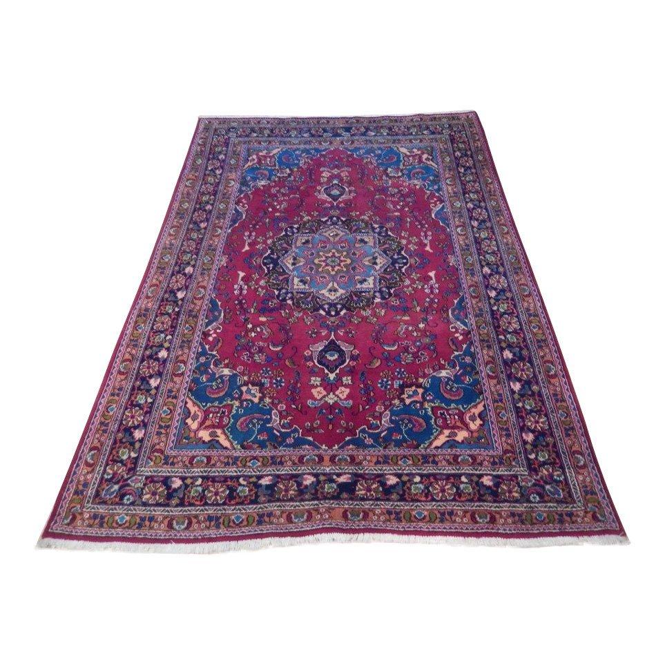 Persian Mashad Rug 6.5x9.7