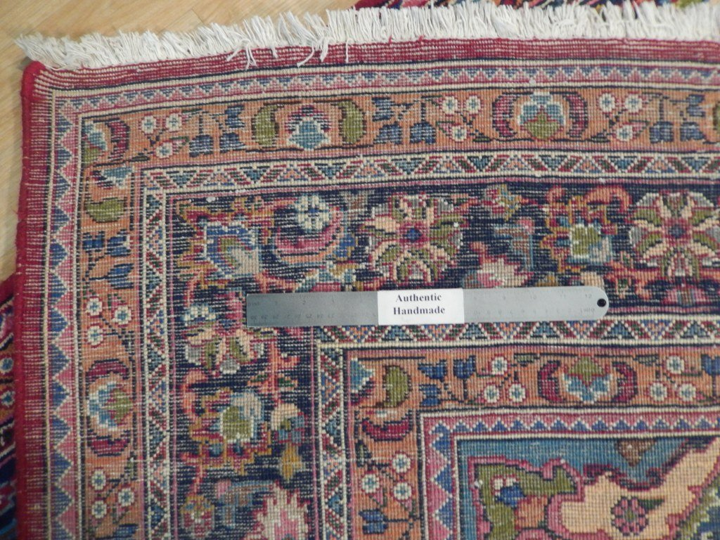 Persian Mashad Rug 6.5x9.7 - 2